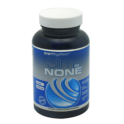 BioRhythm Slim to None - 60 capsules - 60 ea