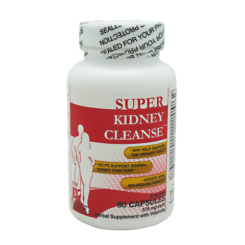 Health Plus Super Kidney Cleanse - 90 ea