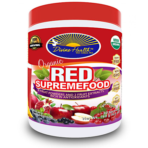 Divine Health Organic Red Supremefood - 30 ea