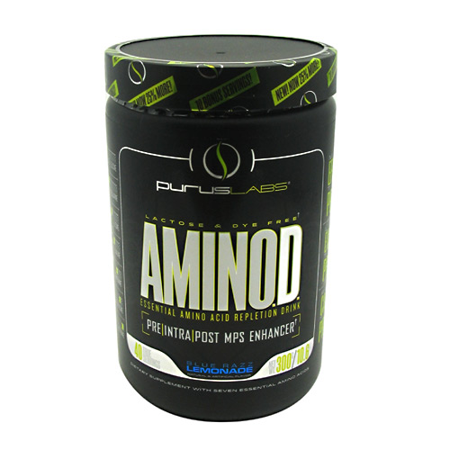 Purus Labs Amino.D. - Blue Raspberry Lemonade - 40 ea