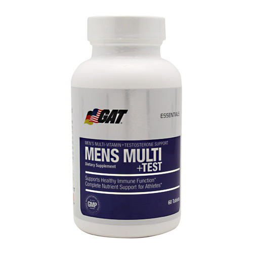 GAT Mens Multi + Test - 60 ea