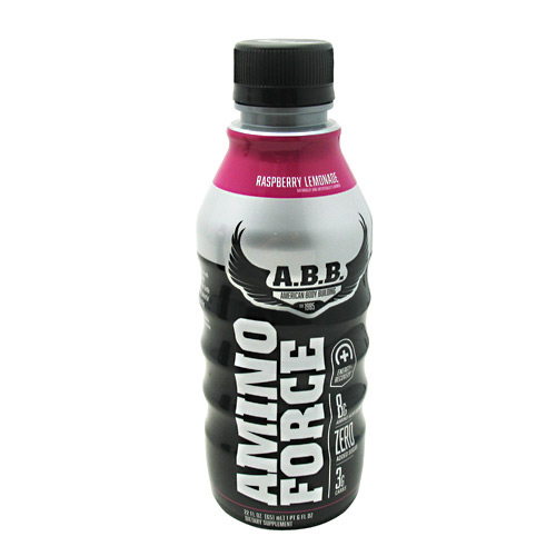 ABB Amino Force - Raspberry Lemonade - 12 ea