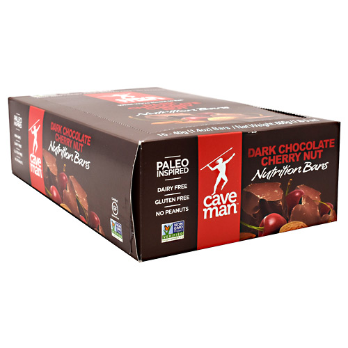 Caveman Foods Caveman Nutrition Bar - Dark Chocolate Cherry Nut - 15 ea