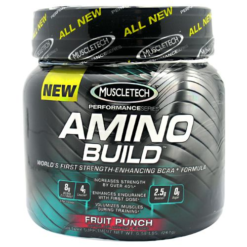 MuscleTech Amino Build - Fruit Punch - 30 ea