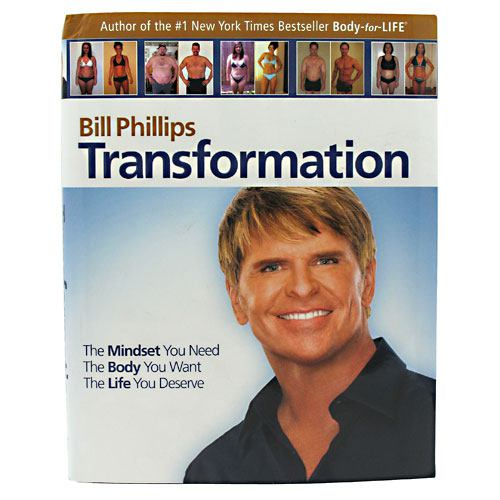 Bill Phillips Right Nutrition Transformation Book - 1 ea