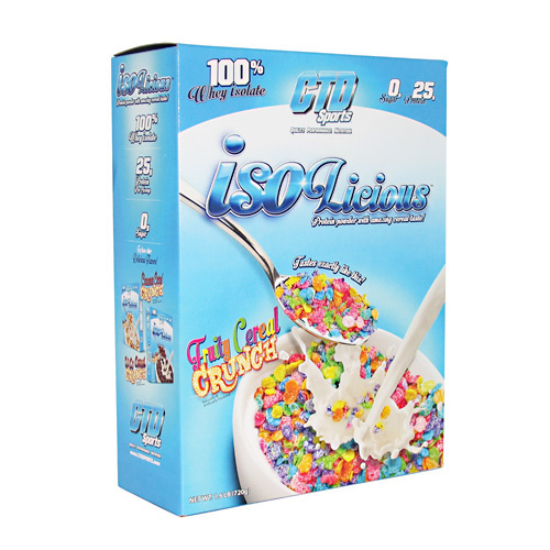 CTD Sports Isolicious - Fruity Cereal Crunch - 1.6 lb