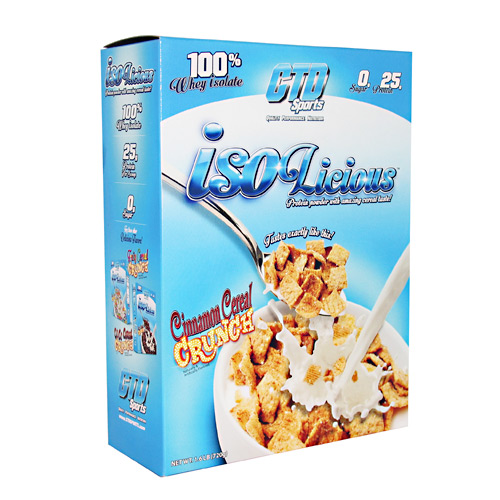 CTD Sports Isolicious - Cinnamon Cereal Crunch - 1.6 lb