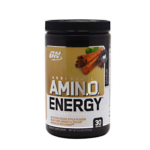Optimum Nutrition Cafe Series Essential Amino Energy - Iced Chai Tea Latte - 30 ea