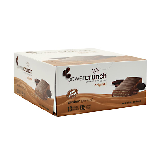 BNRG Power Crunch - Mocha Creme - 12 ea
