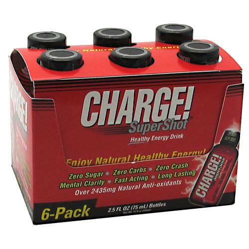 Labrada Nutrition Charge Supershot - 6 ea