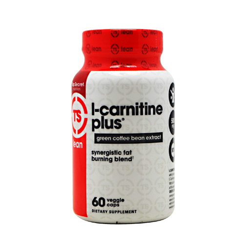 Top Secret Nutrition L-Carnitine + Green Coffee - 60 ea