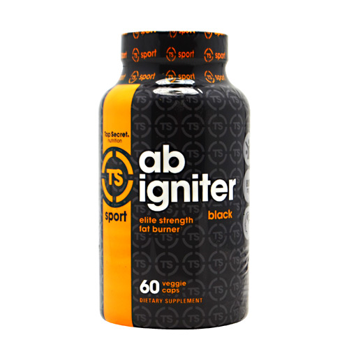 Top Secret Nutrition Black Ab Igniter Black - 60 ea