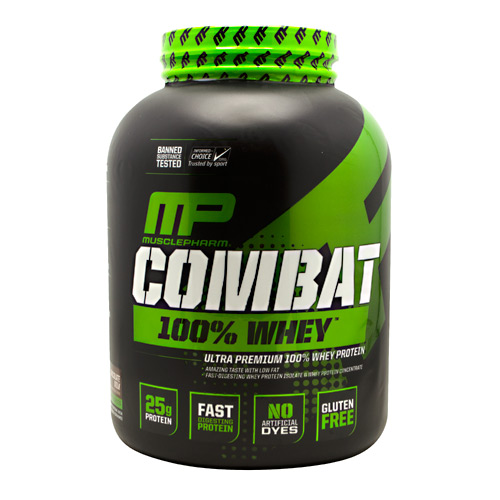 MusclePharm Sport Series Combat 100% Whey - Chocolate Milk - 5 lb