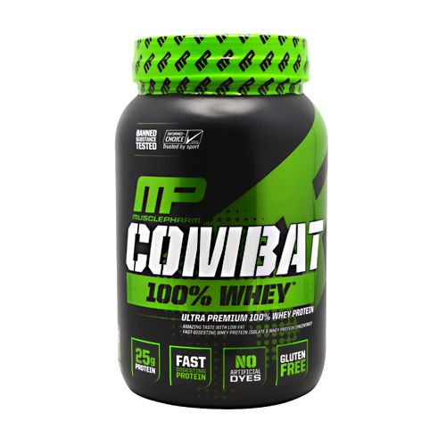 MusclePharm Sport Series Combat 100% Whey - Chocolate Milk - 2 lb
