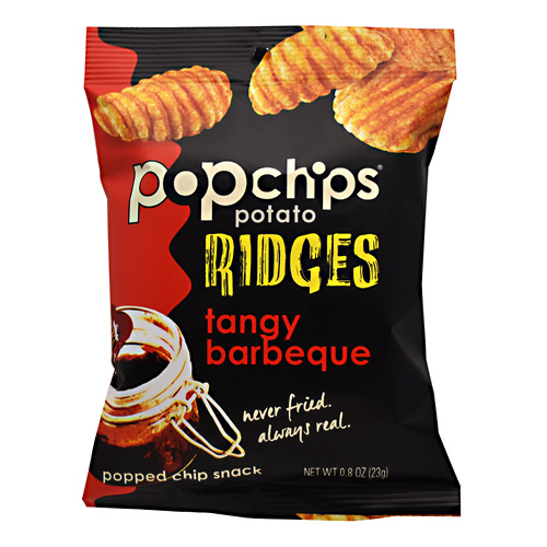 Popchips Popchips Ridges - Tangy Barbeque - 24 ea