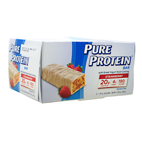 Pure Protein Pure Protein Bar - Greek Yogurt Strawberry - 6 ea