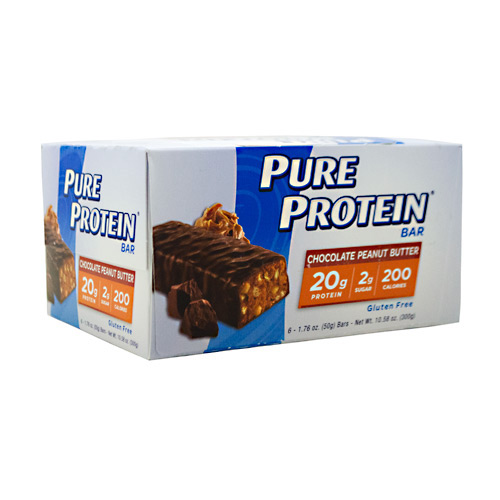 Pure Protein Pure Protein Bar - Chocolate Peanut Butter - 6 ea