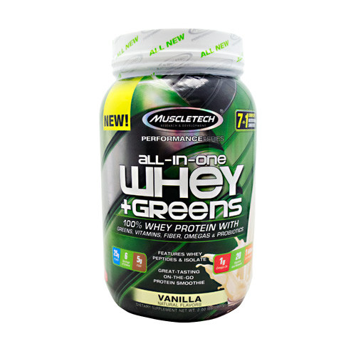 All-In-One Whey + Greens - Vanilla - 2 lb