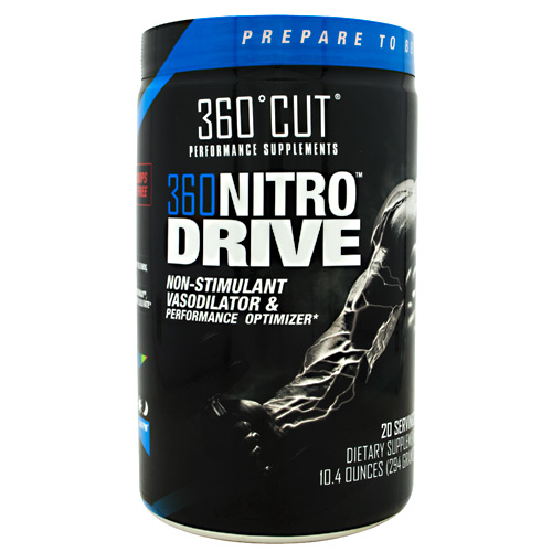 360Cut 360 NitroDrive - Cool Blue Razz - 20 ea