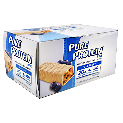 Pure Protein Pure Protein Bar - Greek Yogurt Blueberry - 6 ea