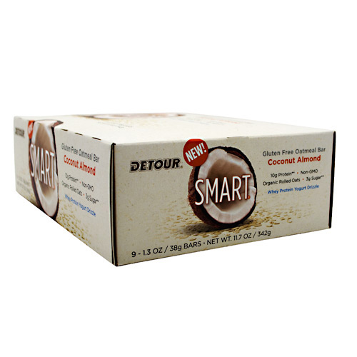 Detour Smart Bar - Coconut Almond - 9 ea