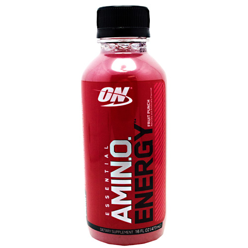 Optimum Nutrition Amino Energy RTD - Fruit Punch - 12 ea