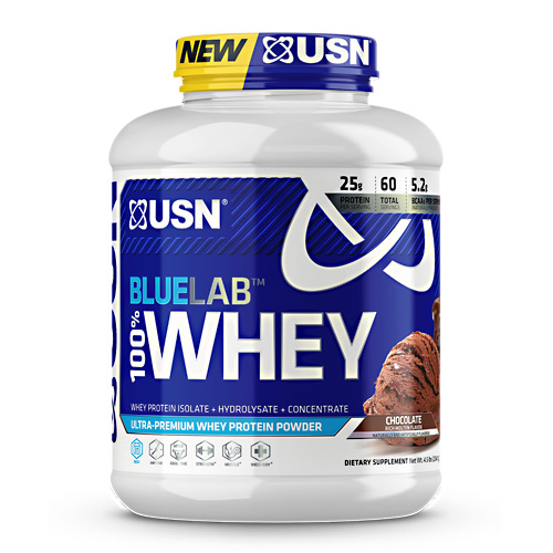USN Blue Lab 100% Whey - Molten Chocolate - 4.5 lb