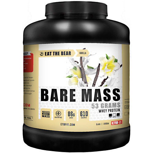 Eat The Bear Bare Mass - Vanilla - 5 lb