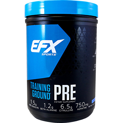 EFX Sports EFX Sports Training Ground Pre - Blueberry - 17.64 oz