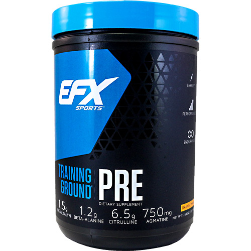 EFX Sports EFX Sports Training Ground Pre - Orange Mango - 17.64 oz