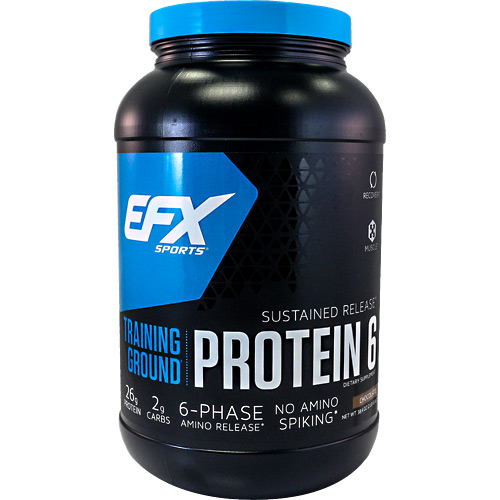 EFX Sports EFX Sports Training Ground Protein 6 - Chocolate - 38.4 oz