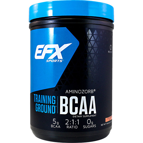 EFX Sports EFX Sports Training Ground BCAA - Strawberry Peach - 17.64 oz
