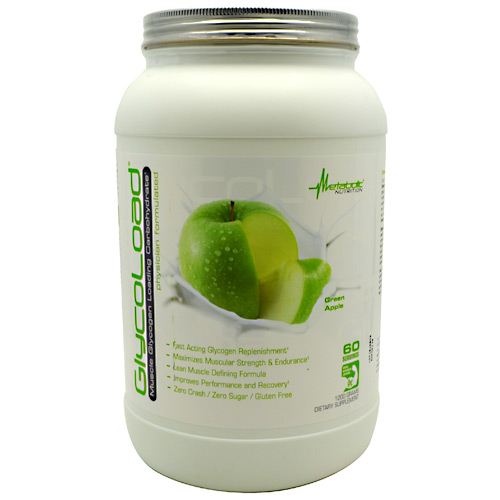 Metabolic Nutrition GlycoLoad - Green Apple - 1200 g