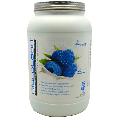 Metabolic Nutrition GlycoLoad - Blue Raspberry - 1200 g