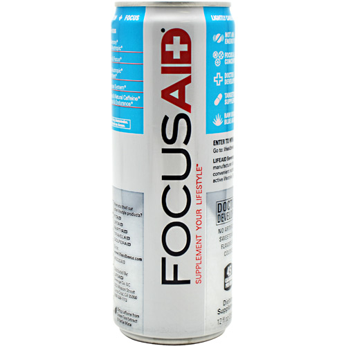 LifeAid Beverage Company FocusAid - 12 ea