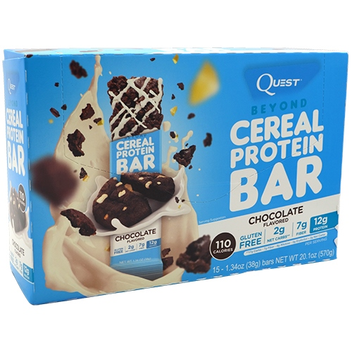 Quest Nutrition Beyond Cereal Protein Bar - Chocolate - 15 ea