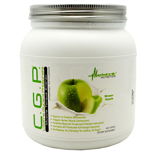 Metabolic Nutrition C.G.P. - Green Apple - 400 g