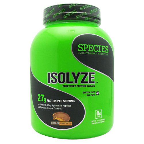 Species Nutrition Isolyze - Chocolate Peanut Butter - 44 ea