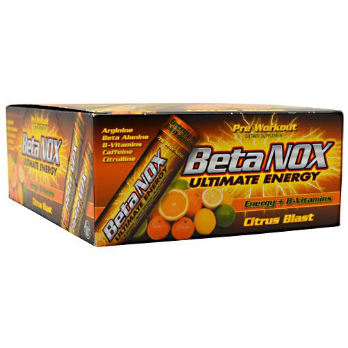 New Whey Nutrition Beta Nox - Citrus Blast - 12 ea