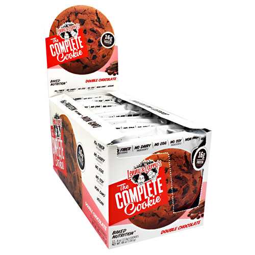 Lenny & Larrys The Complete Cookie - Double Chocolate - 12 ea