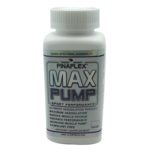 Finaflex (redefine Nutrition) Max Pump - 120 ea