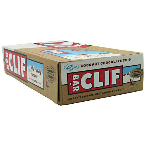 Clif Bar Energy Bar - Coconut Chocolate Chip - 12 ea