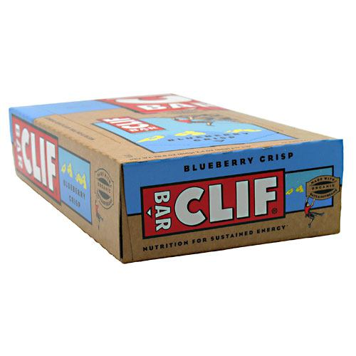 Clif Bar Energy Bar - Blueberry Crisp - 12 ea