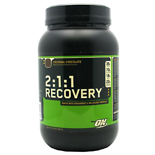 Optimum Nutrition 2:1:1 Recovery - Colossal Chocolate - 3.73 lb