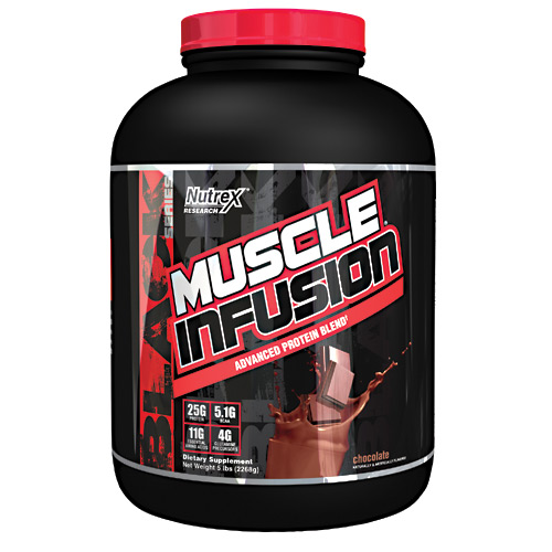 Nutrex Research Muscle Infusion - Chocolate - 5 lb
