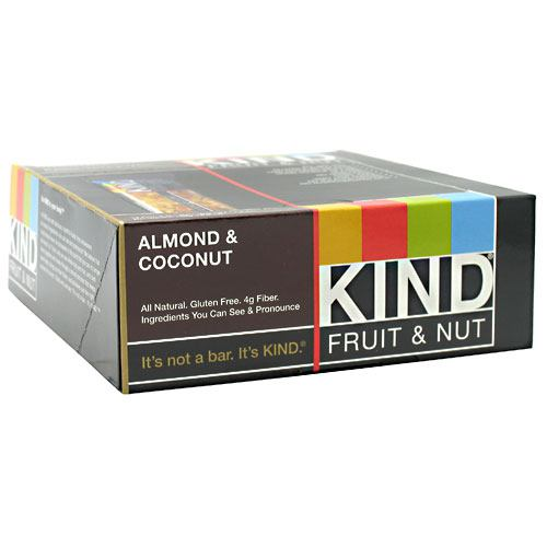Kind Snacks Kind Fruit & Nut - Almond & Coconut - 12 ea