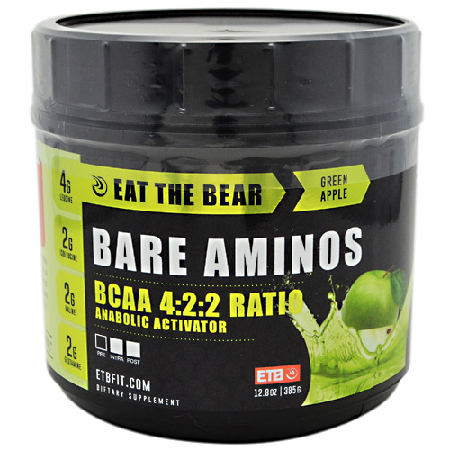 Eat The Bear Bare Aminos - Green Apple - 385 g