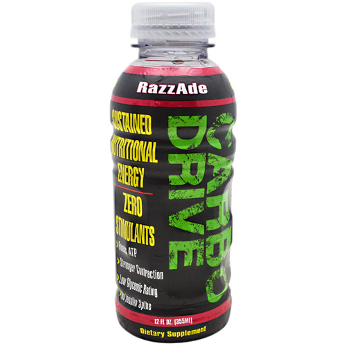 Train Naked Labs Carbo Drive - RazzAde - 12 ea
