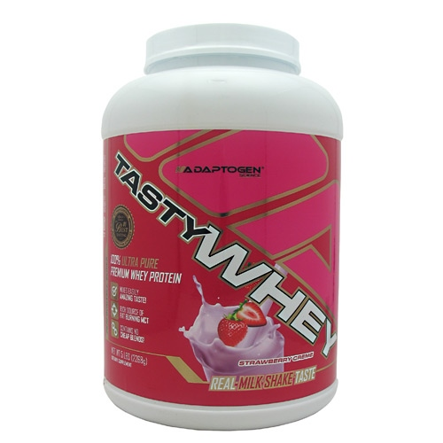 Adaptogen Science Tasty Whey - Strawberry Creme - 5 lb