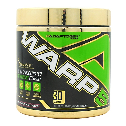 Adaptogen Science Warp-5 - Pink Lemonade Blast - 30 ea